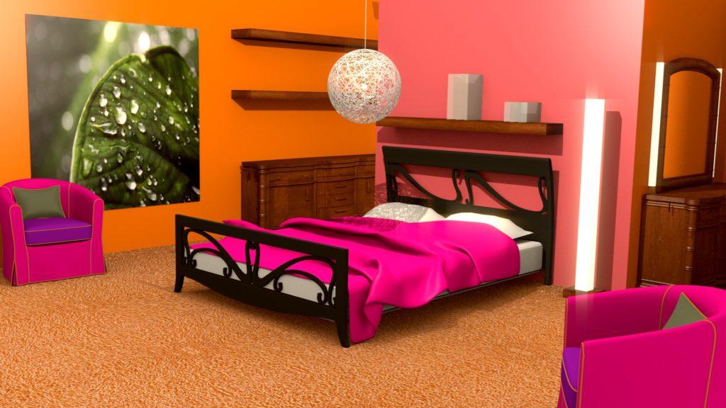 pokój nastolatki różowy pokój